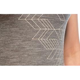 Icebreaker Sphere Fracture - Camiseta manga corta Mujer - gris